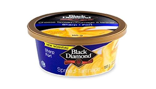 UPC 070153002206, BLACK DIAMOND Cheese Spread, Sharp Cheddar, 8 Ounce (Pack of 12)