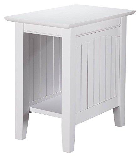 Atlantic Furniture 22 in. Nantucket End Table in