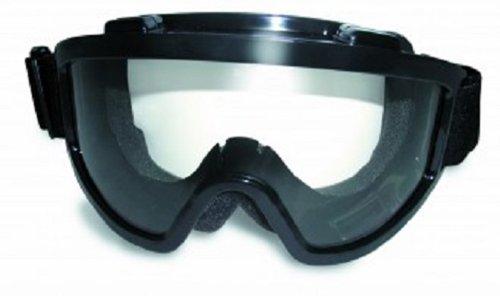 Windshield Goggle Kit Smoke/Clear Lenses Over-Prescription Glasses, Outdoor Stuffs