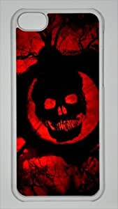 2015 CustomizedGame Gears of War 3 Custom PC Transparent Case for iPhone 5C by icasepersonalized