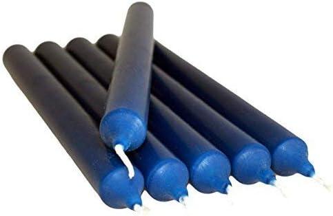 SHINE Lot de 10 Bougies color/ées Anti-Goutte Vert fonc/é