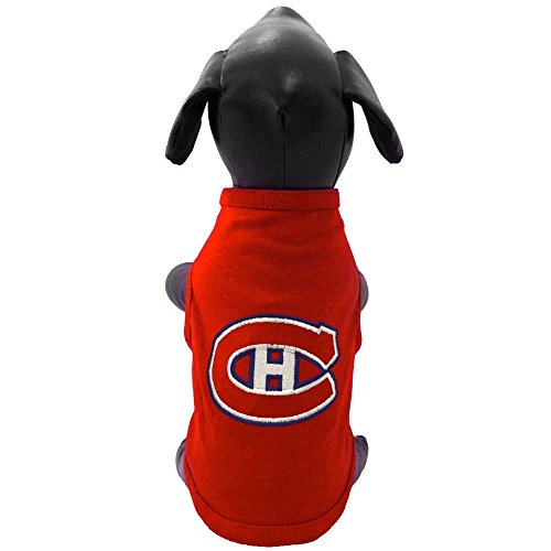 (NHL Montreal Canadiens Dog Tank Top, X-Small, Red)