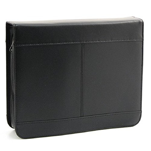 White Dove Firm Shell Black Bible Cover - - Cover Pastors