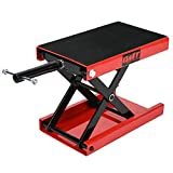 Orion Motor Tech Dilated Scissor Lift Jack for Street Bike, Cruiser, Adventure Touring Motorcycle