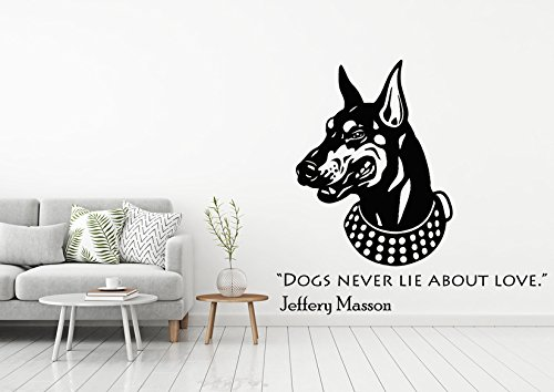 Amazon Com Wall Decal Dogs Quote Animals Anime Best Fiend Wall