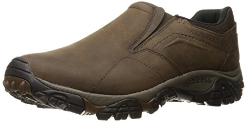 Merrell Men's Moab Adventure MOC Hiking Shoe, Dark Earth, 7.5 M US