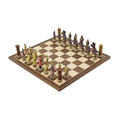Regencychess The Crusaders Vs Arabs Hand Painted Themed Chess Set by Italfama
