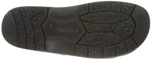 Naot Mens Fiord Leather Sandals Schwarz