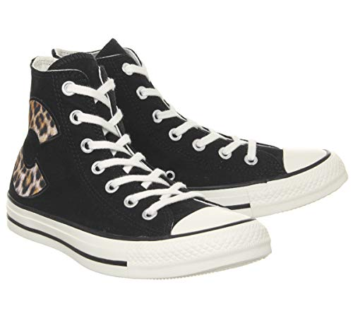 Egret Chucks Converse All Black Designer Leopard C Star Schuhe 4YaaxZqwS