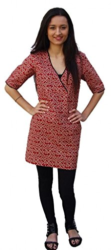 Buy hand block printed dress - 4