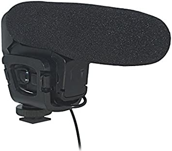 Audibax Videomic Compact Micrófono Externo Cámara Reflex ...