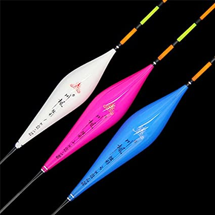 Flotadores de pesca de pesca deportiva alta sensible compuesto Nano 1 – 3 # tapón Bobbers