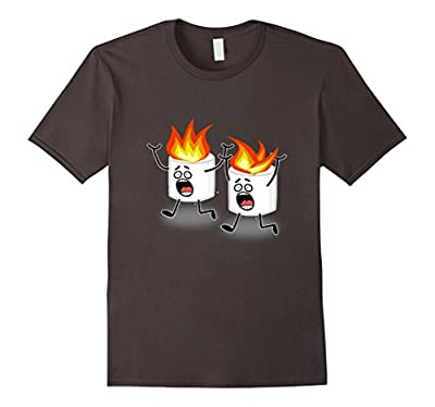 Children's Camp Camping Funny T-shirt Boys Kids Tees