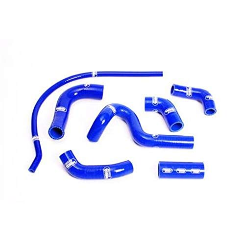 (SAMCO Sport Radiator Hose Kit - Blue BMW2-BL)