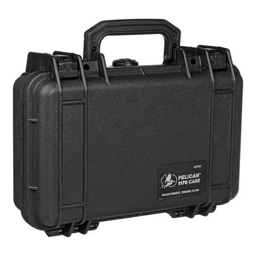 Pelican 1170 Black Watertight Hard Case with Pick-N-Pluck Foam, 1 Each