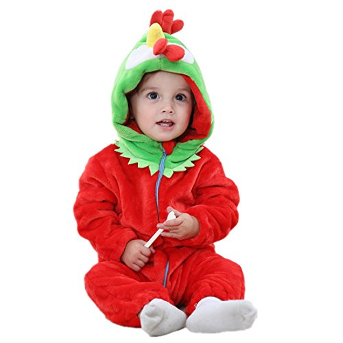 Unisex Baby Halloween Costumes Cartoon Outfit Homewear Chicken -