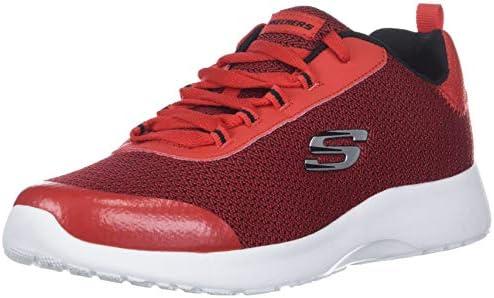 c9c2f9a7126f2 Skechers Kids Boys' Dynamight-Turbo Dash Sneaker, Red/Black, 5.5 ...
