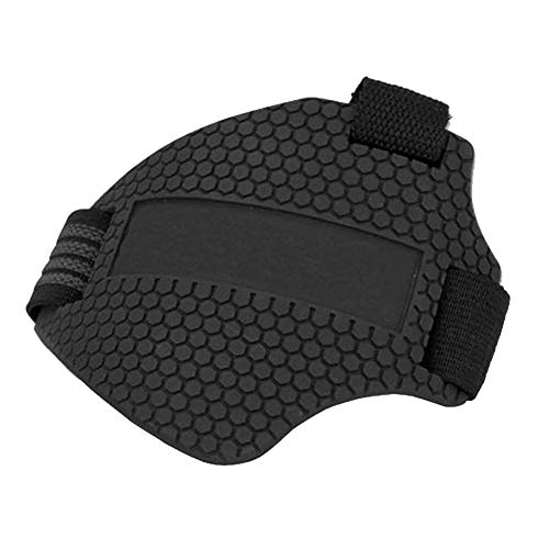 oftenrain Motorcycle Motorbike Shift Pad Shoe Boot Cover Protective Gear, Shift Rubber Cover, Simple Design, Practical and Compact, Easy to Carry, Black (Protective Rubber Boot)