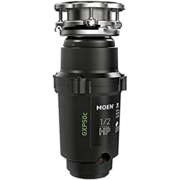 Moen GXP50C GX PRO Series 1/2 hp Garbage Disposal