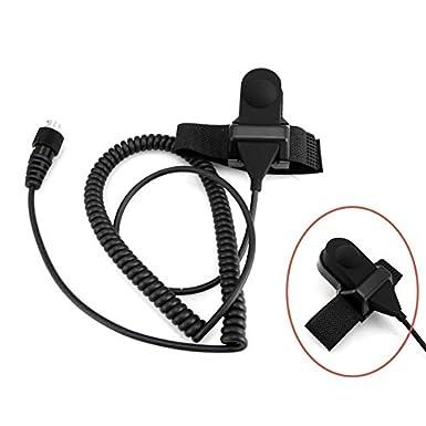 Amazon Com Baofeng Helmet Kit 2 Pin Full Face Motorcycle Headset