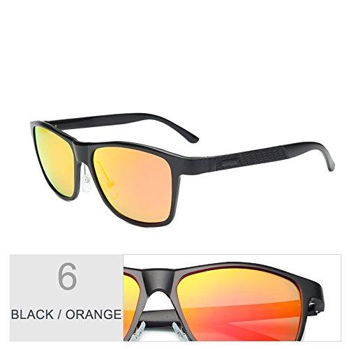 Cobre Alluminio Black Gafas Pesca Orange Gafas Marrón Sol Calidad Magnesio De De Para Polarizadas TIANLIANG04 Hombres Guía Alta De 1awqpdaP