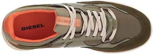 Diesel Mens Remmi-v S-furyy M Sneaker Brent Oliven