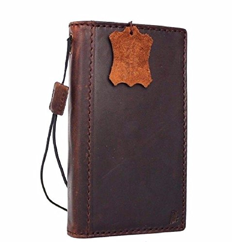 Genuine real Leather Case for Samsung Galaxy S8 Book cards Wallet Luxury Cover Slim Handmade Retro Id s 8 Davis holder classic