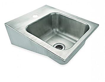 Amazon De My Gastro Edelstahl Waschbecken Handwaschbecken 42x33cm