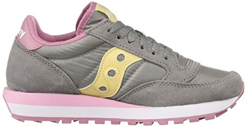 Grigio Donna Low top Saucony Jazz Original Scarpe AT46Aq