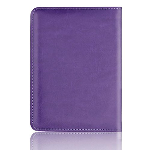 Duseedik Promotion# Leather Passport Holder Wallet Cover Case RFID Blocking Travel Wallet (E)