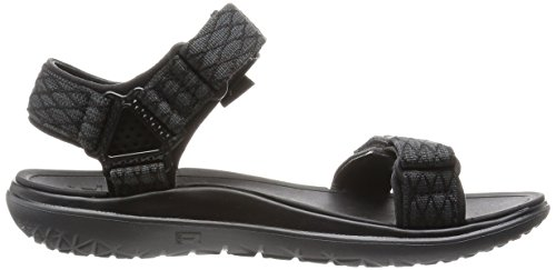 Teva TevaTerra Universal - Sandalias de Punta Abierta Hombre Negro - Schwarz (black 513)