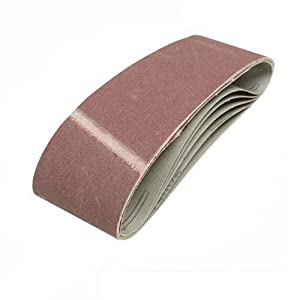 Grit 36 10 MENZER Sanding Belts for Hand Belt Sanders 533 x 75 mm