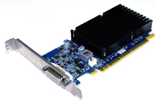 PNY GeForce 8400GS 512MB DDR2 DMS-59 PCI-Express 2.0 DMS-59 (DVI+DVI or VGA+VGA or DVI+VGA) Low Profile Graphics Card VCG84DMS5R3SXPB