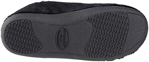 Pictures of ISOTONER Men's Microterry Slip On Slipper A95019BLKLG 7