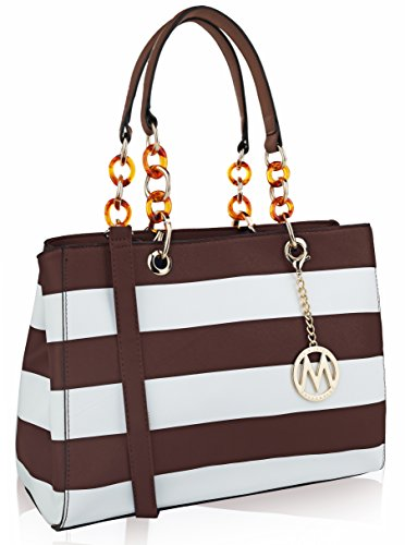 MKF by Clementine Collection Coffee bag Tote K Mia Farrow IqIrw1FB