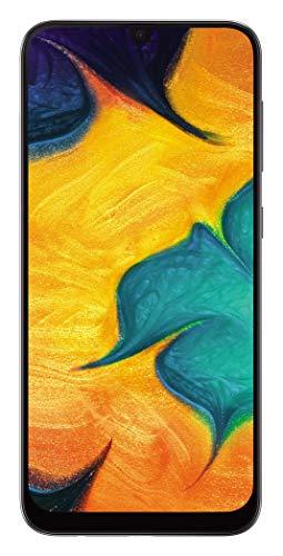"""Galaxy A30 SM-A305FDS 64GB, Dual Sim, 6.4"""" FHD+ Super AMOLED Infinity-U Display, 4GB RAM, GSM Unlocked International Model, No Warranty (Black)"""
