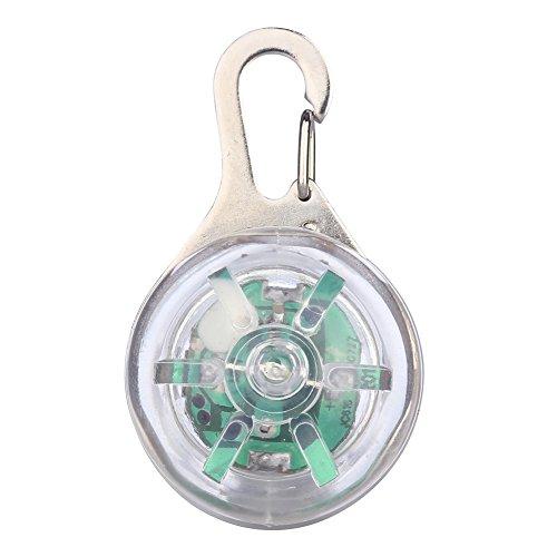 Pet Dog LED Collar Lights Pendant Clip-on Circular Collar Anti-lost Blinking Collar Lights LED Go Anywhere Light outdoor LED Pendant Light 8-Color 3 flashing modes - Dog Collar Leash Tag