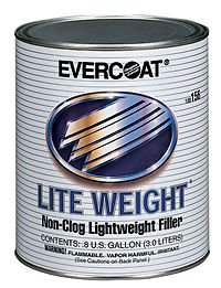 1 Gallon Lite Weight - High-Quality Non-Clog Lightweight Body Filler - Part# FIB 156