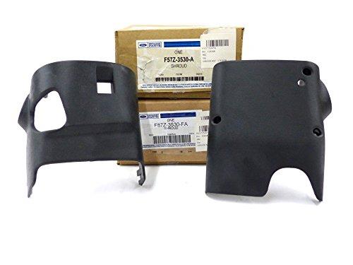 Ford Ranger Explorer Upper & Lower Steering Wheel Column Shroud Cover Trim (Steering Wheel Shroud)