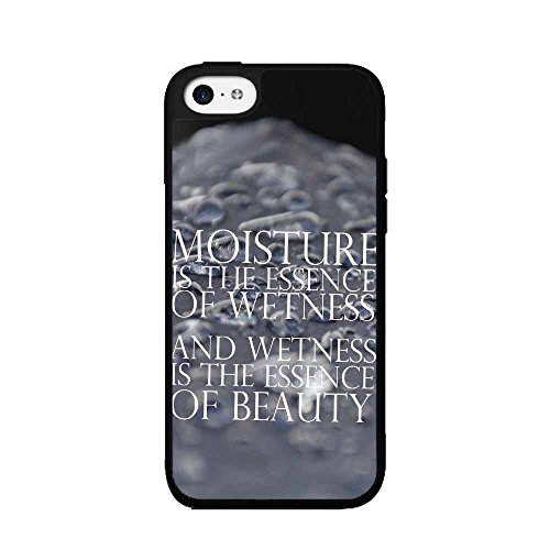 [Funny Movie Moisture Quote Plastic Fashion Phone Case Back Cover iPhone 4 4s comes with Security Tag and MyPhone Designs(TM) Cleaning Cloth] (Zoolander Costume Design)