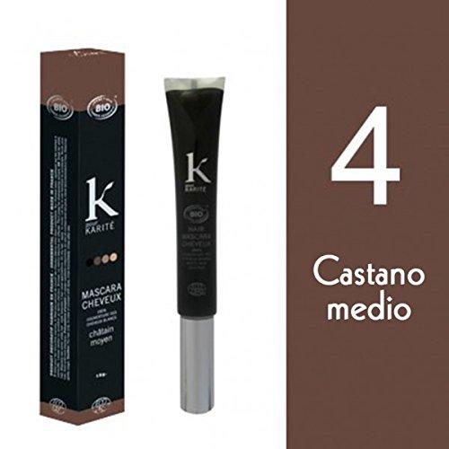 6 opinioni per K per karité Mascara Castano Medio N ° 415g