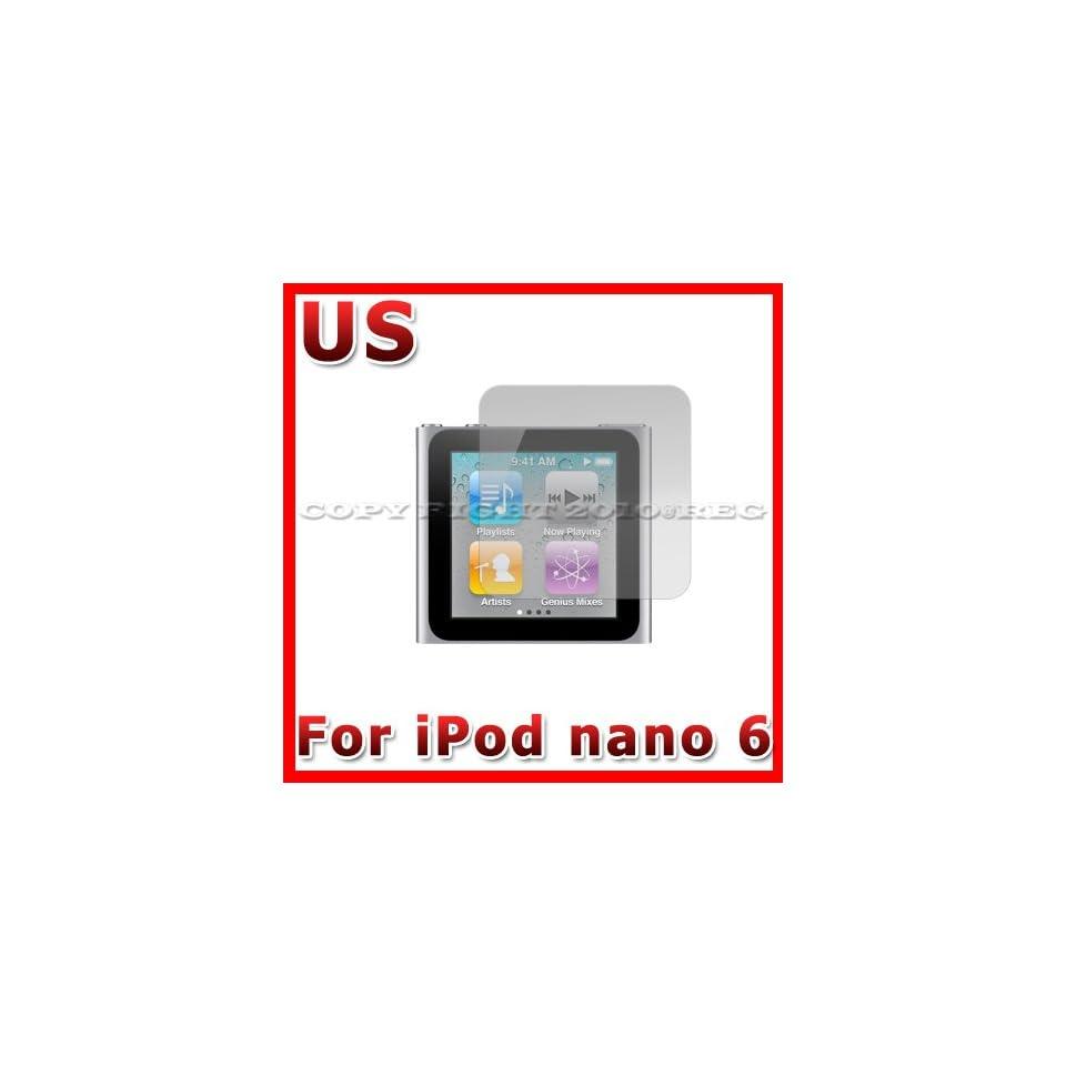 ANTI GLARE MATTE SCREEN PROTECTOR COVER GUARD FOR APPLE IPOD NANO 6 6TH GEN 6G G