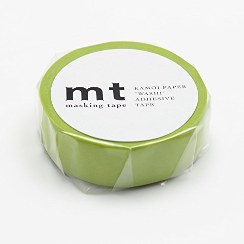 "MT Solids Washi Paper Masking Tape: 3/5""x33 / Wakanae, Sapling (MT01P189)"