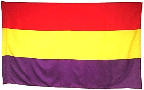 BANDERA REPUBLICA ESPAÑOLA REPUBLICANA GRANDE 150 ...