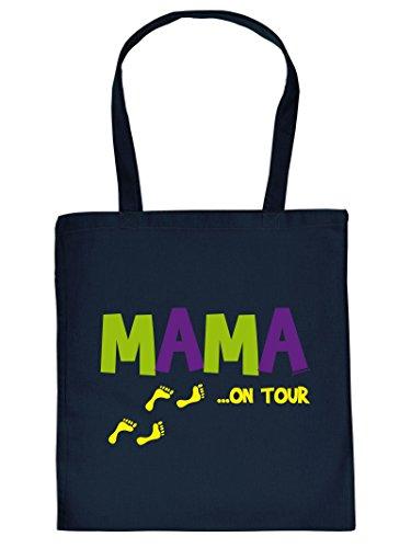 Mummia .. On Tour - Borsa Con Manico In Borsa Con Impronta. Borsa Per Il Trasporto, Must-have, Borsa Di Stoffa. Idee Regalo