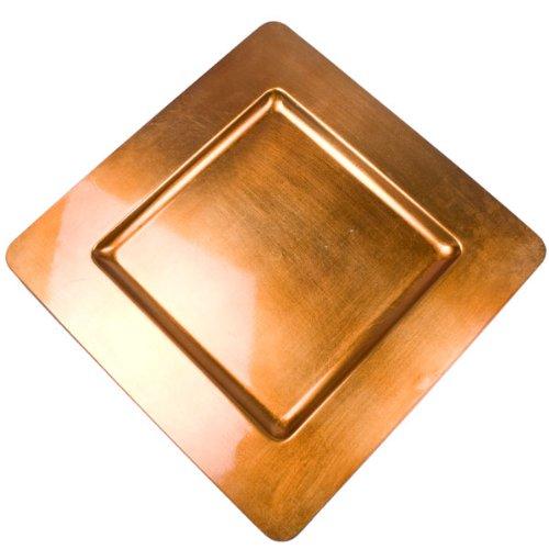 Fizzco Standard Orange Square Charger Plate - 33cm x 33cm: Fizzco ...
