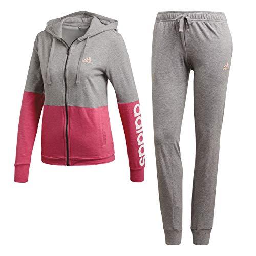 Grigio Marker haze Heather medium Coral Femme Co Wts Mel Combinaison Bianco Adidas Grey nx4aTXOw