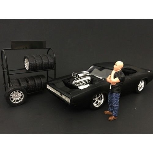 The Street Racing Crew Figure I For 1:18 Scale Models by American Diorama 77431