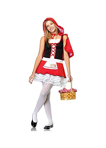 Little Red Riding Hood Teen Girls Costume and Basket]()