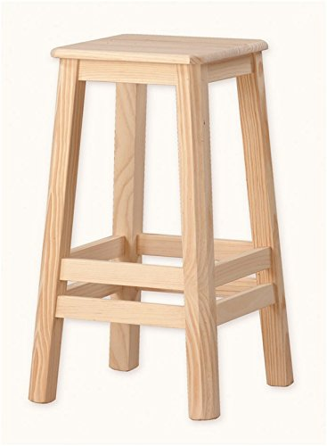 Muebles Natural - Taburete de Madera de doble cercha, para mesa ...
